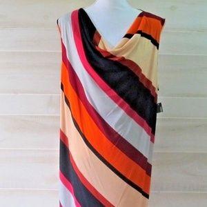 Kim Rogers Curvy Sleeveless Dress Plus Size NWT
